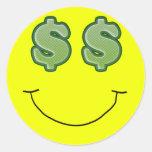 Seeing Green Smiley 2 Sticker