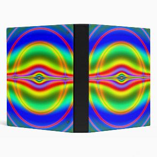 Seeing in Fluorescent Neon Fractal Binder