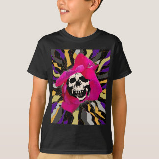 Seeing into the Soul skull art T-Shirt