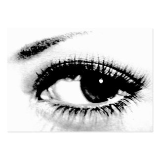 Seeing is Believing/Beautiful Eye Large Business Cards (Pack Of 100)