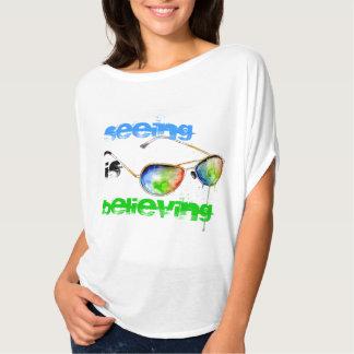 Seeing is Believing Bella Fit Shirt