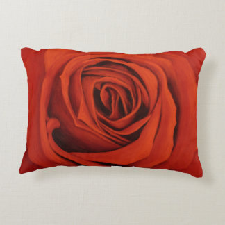 Seeing Red Brushed Polyester Pillow