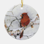 Seeing Red.by Nancy Dezotell Christmas Tree Ornament