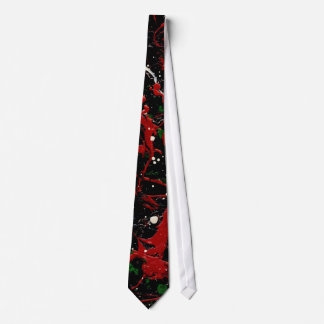 SEEING RED TOO (an abstract art design) ~.jpg Tie