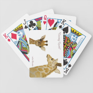 Seeing Spots, Playing Cards