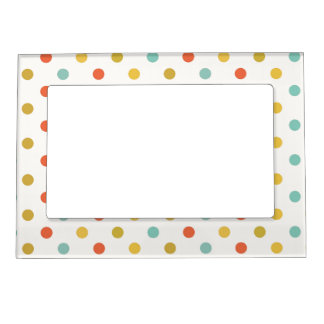 Seeing Spots Polka Dots Magnetic Picture Frame