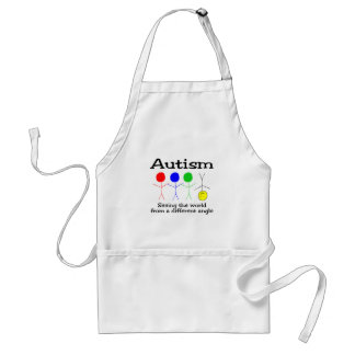 Seeing The world From A Different Angle Adult Apron