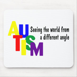 Seeing The World From A different Angle (Bright) Mouse Pad