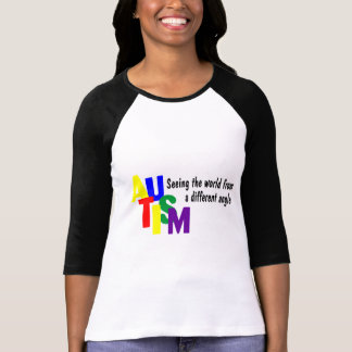 Seeing The World From A Different Angle (Color) T-Shirt