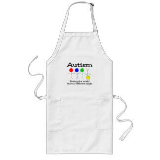 Seeing The world From A Different Angle Long Apron