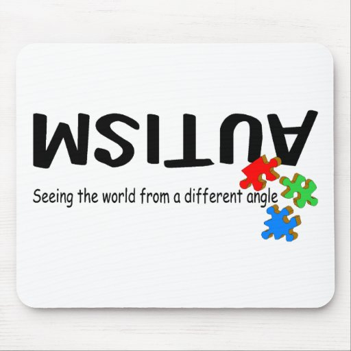 Seeing The World From A Different Angle (PP) Mouse Mat