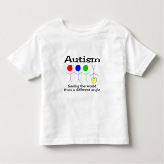Seeing The world From A Different Angle Toddler T-shirt