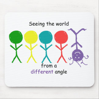 Seeing The World - MousePad