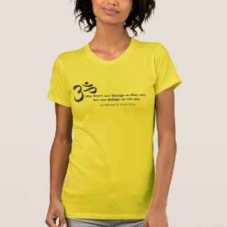 Seeing Things with Om Tee Shirts