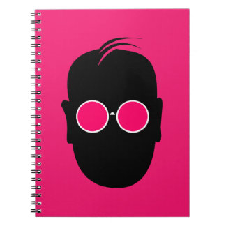 Seeing Through Rose Colored Glasses Spiral Notebook