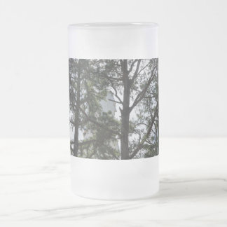 Seek And Find Me Frosted Glass Beer Mug