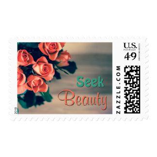 Seek Beauty Stamp