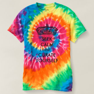 Seek Calm And Curate Yourself T-shirt
