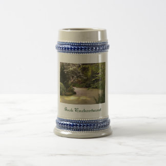 """Seek Enchantment"" Beer Stein"