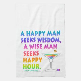 SEEK HAPPY HOUR Kitchen, Bath or Bar TOWEL
