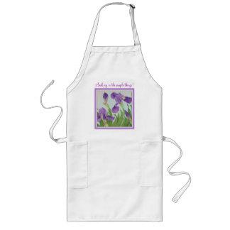 Seek joy in the simple things! long apron