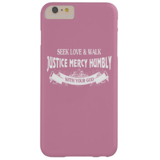 Seek Love Barely There iPhone 6 Plus Case