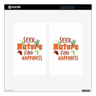 Seek Nature Decal For Kindle Fire
