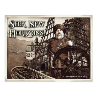 Seek New Horizons Postcard