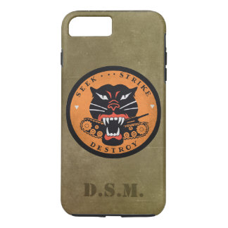 Seek Strike Destroy Tank Destroyer Emblem iPhone 8 Plus/7 Plus Case