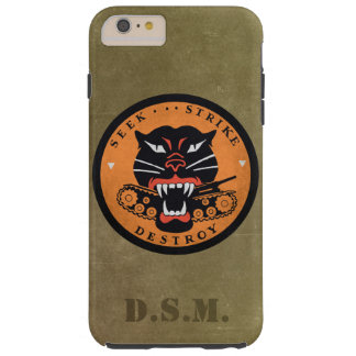 Seek Strike Destroy Tank Destroyer Emblem Tough iPhone 6 Plus Case