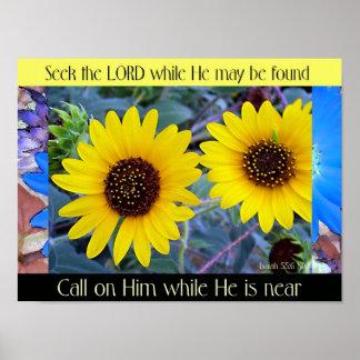 """Seek the Lord' Canvas Print"