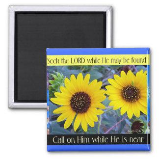 """Seek the Lord"" magnet"