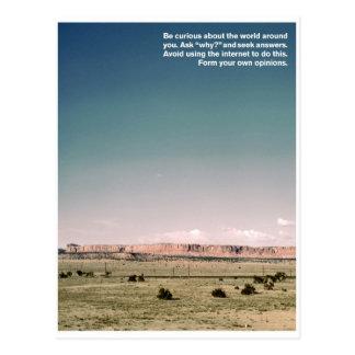 Seek Yourself Postcard