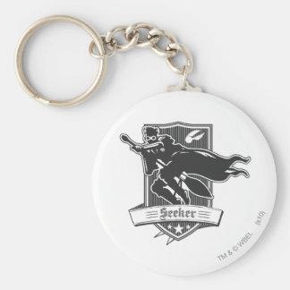 Seeker Badge Basic Round Button Keychain