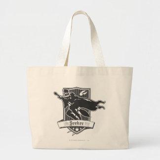 Seeker Badge Jumbo Tote Bag