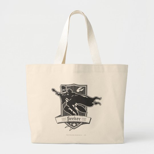 Seeker Badge Large Tote Bag