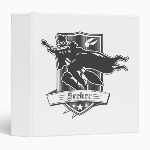 Seeker Badge Vinyl Binders