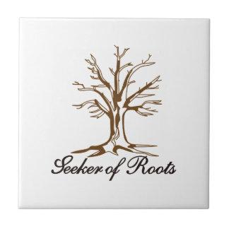Seeker of Roots Ceramic Tile