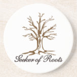 "Seeker of Roots Coaster<br><div class=""desc"">Every family is unique and special.  Our lovely tree allows you to create something very special for your family - what about shirts for the family reunion!</div>"