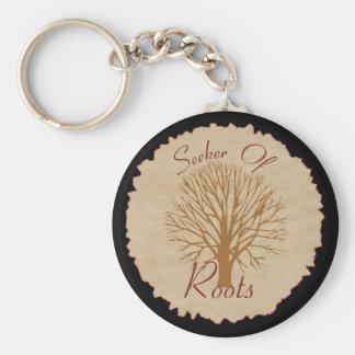Seeker of Roots Keychain