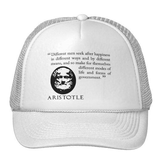 seeking happiness white cap