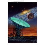 Seeking Intelligent Life in the Milky Way Card