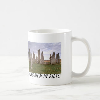 """Seeking Men in Kilts"" Coffee Mug"