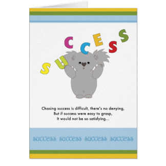 Seeking Success Greeting Card