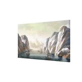 Seeking the North West Passage - the British Voyag Canvas Print