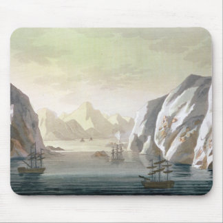 Seeking the North West Passage - the British Voyag Mouse Pad