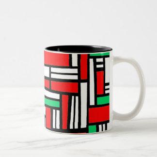 Seemly Valued Broad-Minded Imagine Two-Tone Coffee Mug