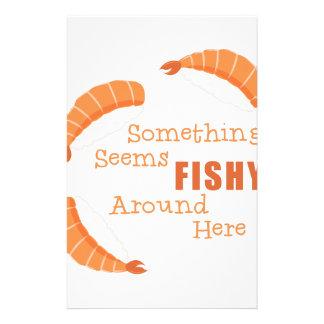 Seems Fishy Stationery
