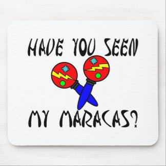Seen My Maracas Mouse Pads