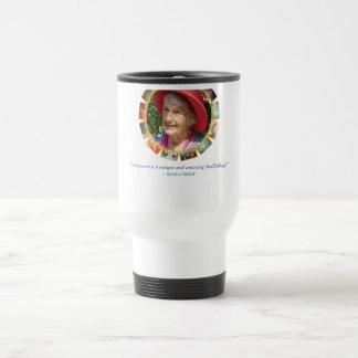 Seena Unique Quote Travel Mug